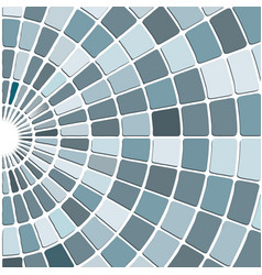 Grey grid mosaic background creative tiles design vector