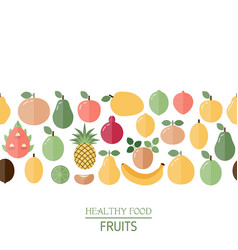 healthy food background healthy food background vector image