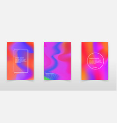 holographic background iridescent foil glitch vector image