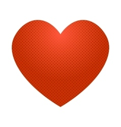 Pop art heart icon vector image