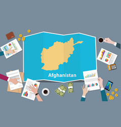 Republic islamic of afghanistan country growth vector