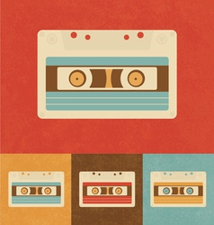 Retro Cassette vector image