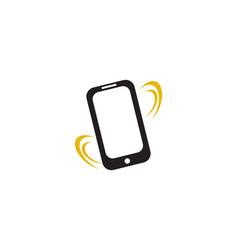 Smartphone ringing vector