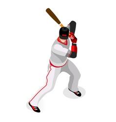 Baseball 2016 Championship 3D Isometric vector image