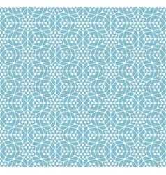 Geometric seamless pattern with lines and circles vector image