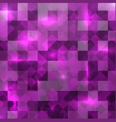 mosaic light background purple light texture vector image