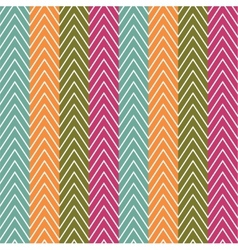 Chevrons seamless pattern background vector image