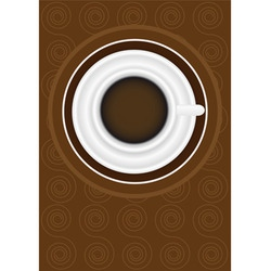 menu card design vector image vector image