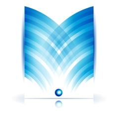 Abstract circle and wave vector