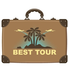 best tour vector image