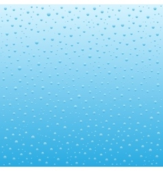 Blue Water drops background vector