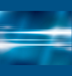 bright lights on blue abstract background vector image