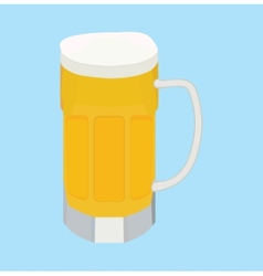 cartoon beer vector image