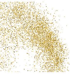 Gold glitter texture i vector