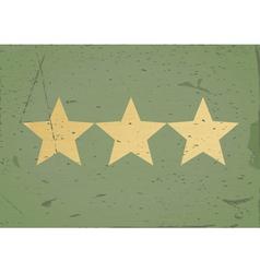 GrStar sign grunge background vector