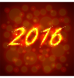 Happy new year 2016 concept vector image