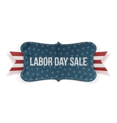 Labor Day Sale national Banner vector image