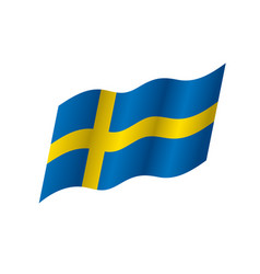 Sweden flag vector