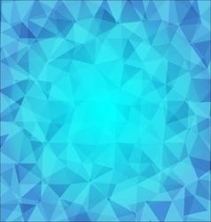 abstract poligonal background in blue tones vector image