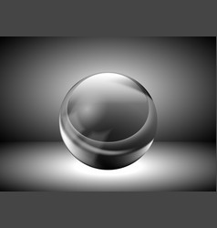 metal ball vector image vector image