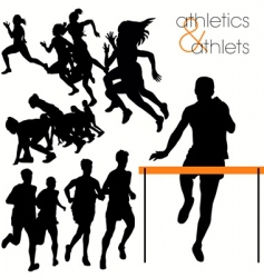 athletics vector image vector image