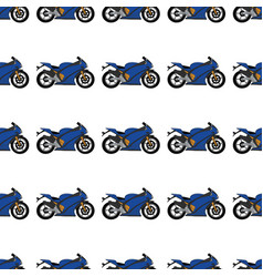 A motorcycle pattern vector