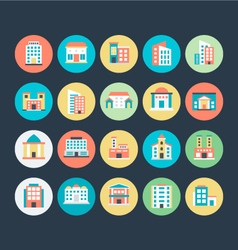 Buildings Icons 5 vector