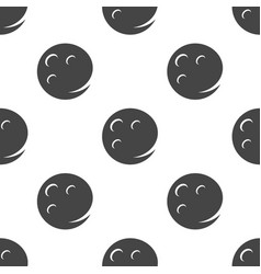moon seamless pattern vector image