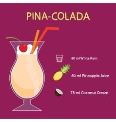 Pina-colada vector