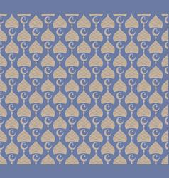 Ramadan seamless pattern simple abstract decorate vector