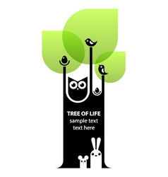 Tree of life concept vector image