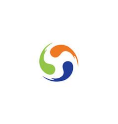 vortex logo vector image
