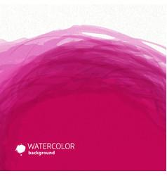 Watercolor pink background vector