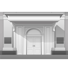 Shop Museum Boutique Building Store Front Isolated vector image vector image
