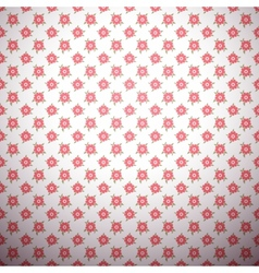 Abstract flower pattern wallpaper with polka dot vector image vector image
