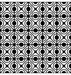 geometric lattice pattern vector image vector image