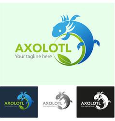 Axolotl symbol vector