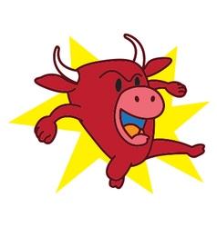 Bull Angry vector