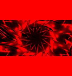 glowing exploded background of bloody threads and vector image