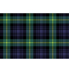Gordon tartan fabric texture seamless pattern vector