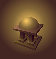 islamic logo element vector image