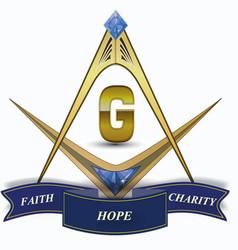 Jewel free mason logo vector