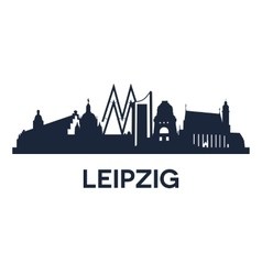 leipzig emblem vector image