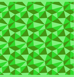 Low poly neon green pattern seamless background vector