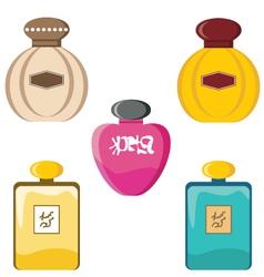 Perfumery set vector