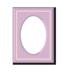 Photo frame isolated vector image