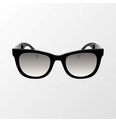 Glasses icon Simple isolated symbol vector image vector image