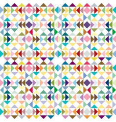 triangle pastel texture vector image vector image