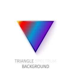 triangle spectrum background vector image