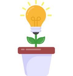 Ecology idea vector